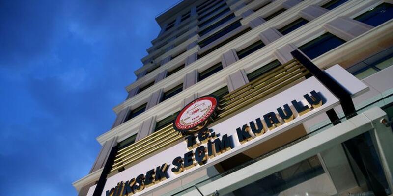 YSK 31 Mart seçimlerine ilişkin kesin sonuçları ilan etti