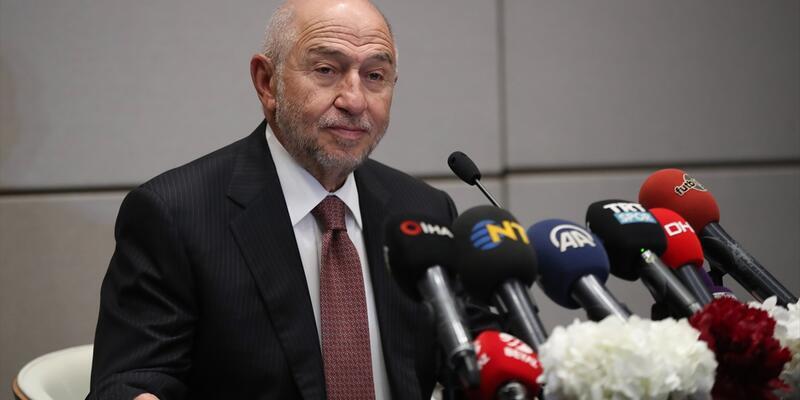 Nihat Özdemir, TFF Başkanlığı'na adaylığını resmen açıkladı