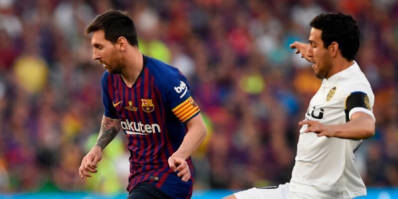 Barcelona 1-2 Valencia Maç Özeti
