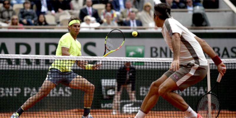 Federer Nadal tenis maçının kazananı belli oldu