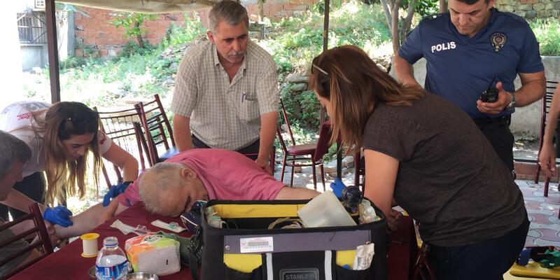 Çay bahçesinde ölen adamın katil zanlısı 'lazer teknolojisi' ile yakalandı