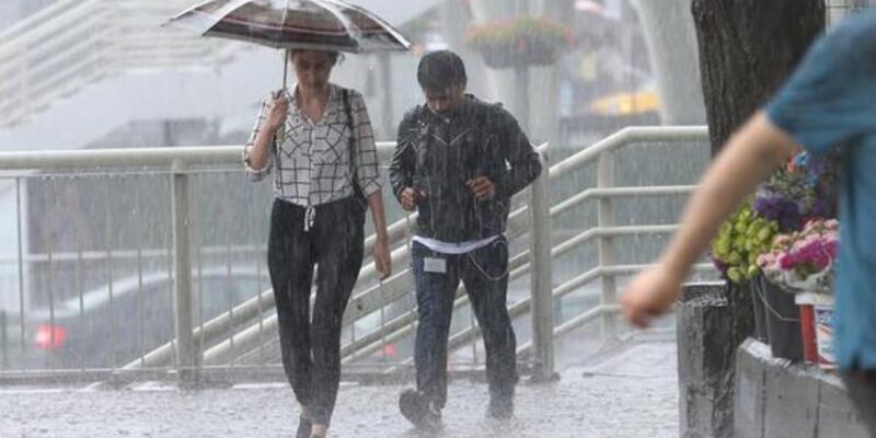 Meteoroloji'den yağış uyarısı (13 Haziran hava durumu)
