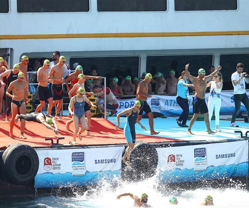 Dünyanın en iyi açık su yüzme yarışı seçildi