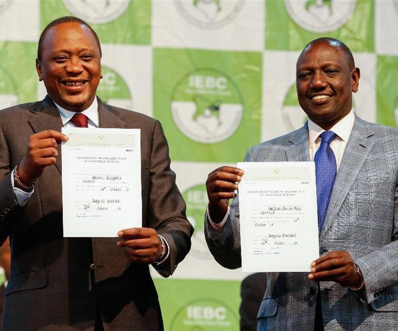 Kenyatta, yeniden devlet başkanı seçildi
