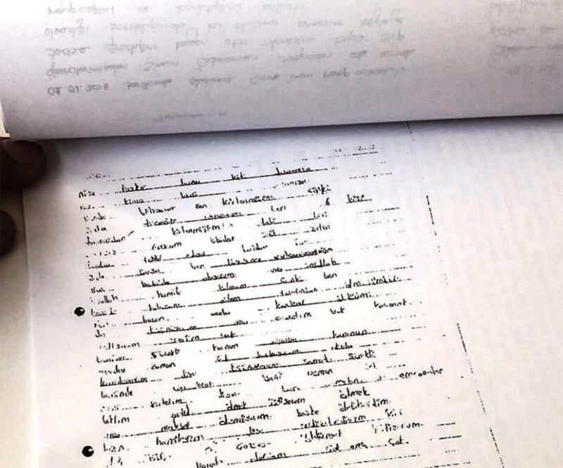 Okul koridorunda bulunan mektup korkunç istismarı ortaya çıkardı