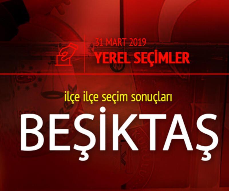 Beşiktaş seçim sonuçları 2019 - 31 Mart Yerel Seçimleri Beşiktaş oy oranları