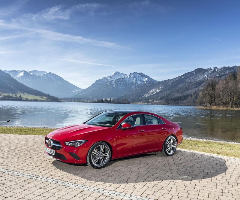 Mercedes CLA yenilendi