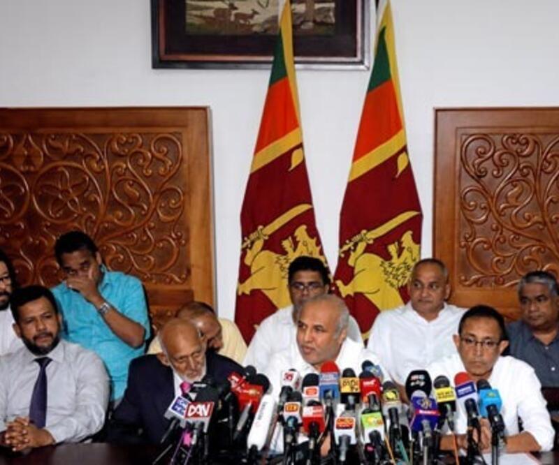 Sri Lanka'da Müslüman bakanlar toplu şekilde istifa etti