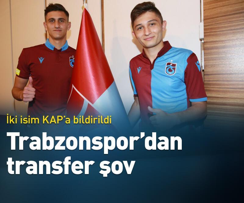 Son dakika: Trabzonspor'dan transfer şov