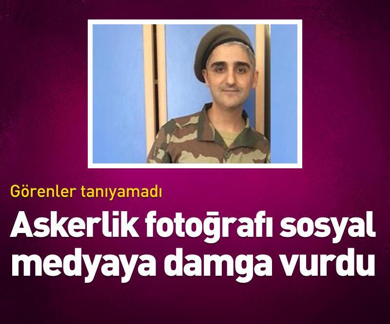 Son dakika: Askerlik fotoğrafı sosyal medyaya damga vurdu