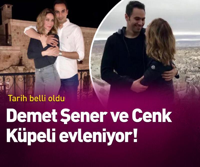 Son dakika:  Demet Şener ile Cenk Küpeli evleniyor!