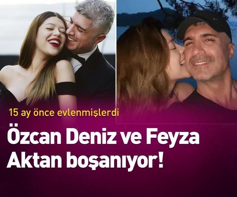 Son dakika: Özcan Deniz ve Feyza Aktan boşanıyor!