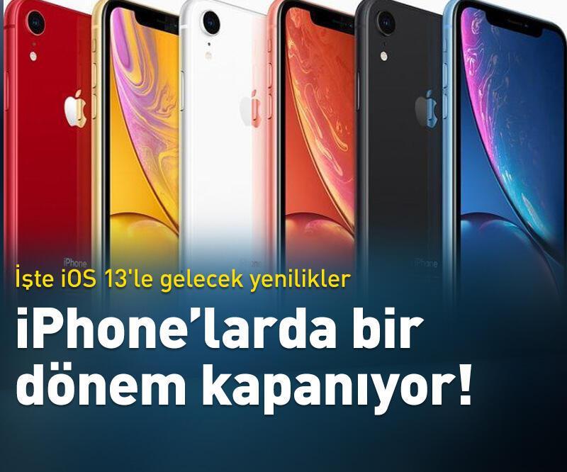 Son dakika: iPhone'larda bir dönem kapanıyor!