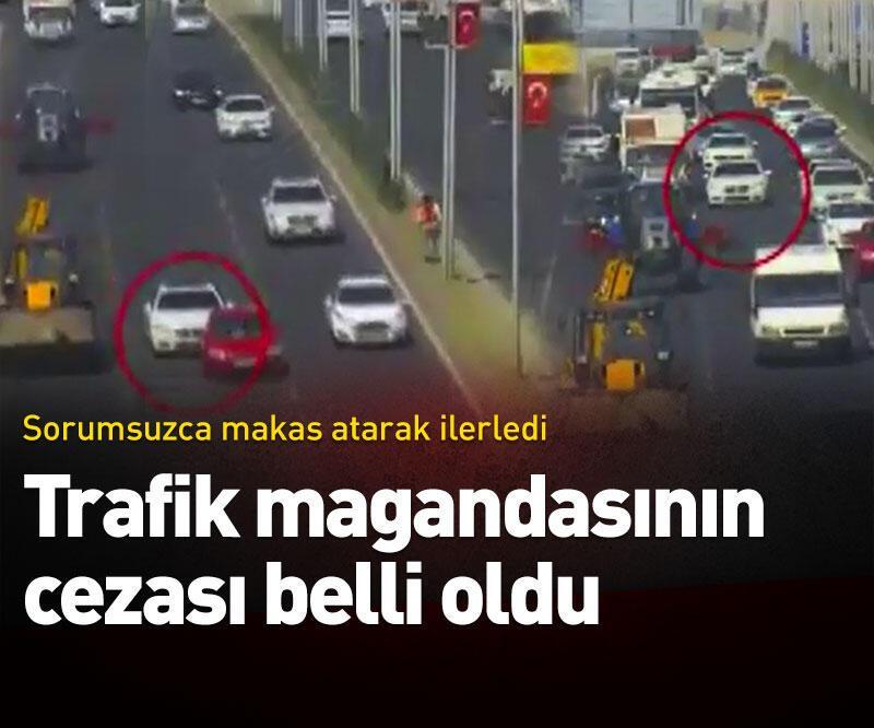 Son dakika: Trafik magandasının cezası belli oldu