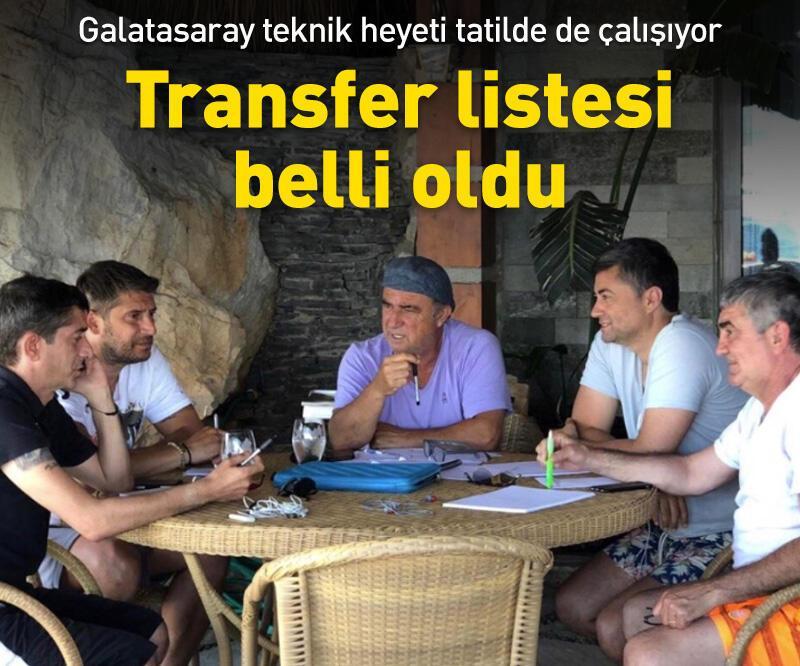 Son dakika: Galatasaray'ın transfer listesi