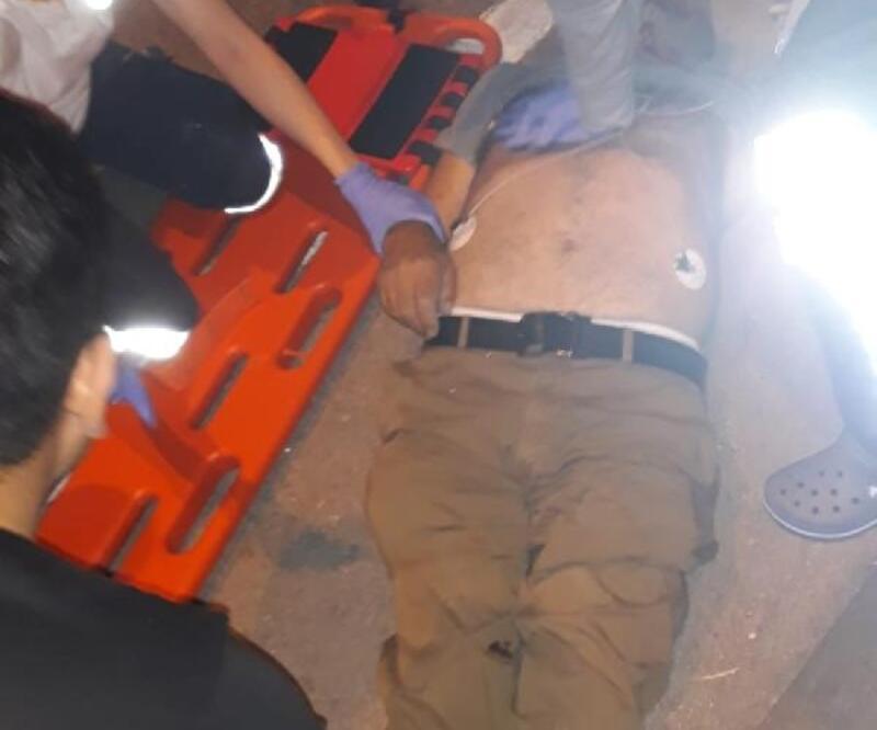 Karşıya geçmeye çalışırken otomobilin çarpması sonucu öldü