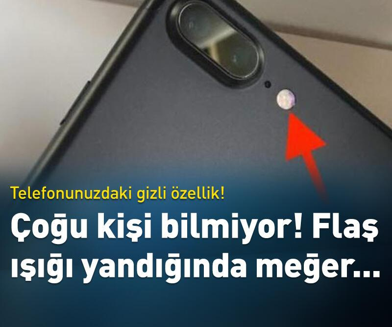 Son dakika: Telefonunuzdaki gizli özellik!