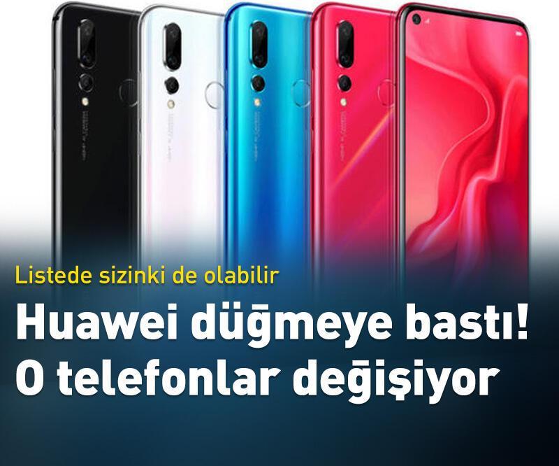 Son dakika: Huawei sahiplerine önemli uyarı!