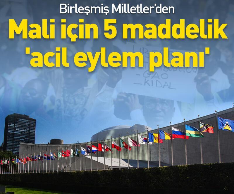 Son dakika: BM'den Mali için 'acil eylem planı'