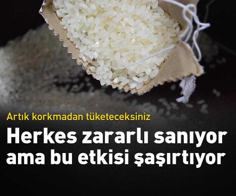 Son dakika: Pirincin faydaları şaşırtıyor