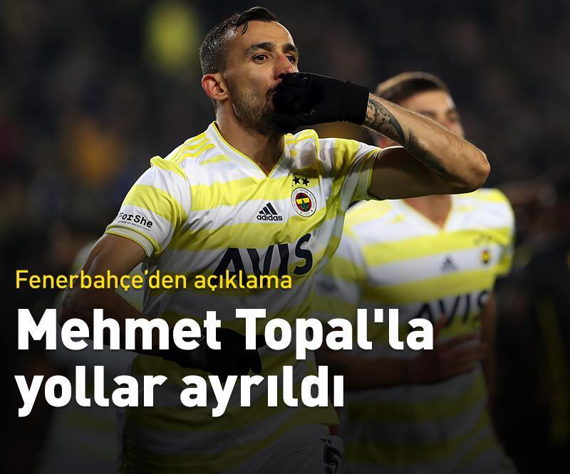 Son dakika: Fenerbahçe, Mehmet Topal'la yollarını ayırdı