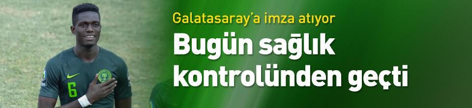 Galatasaray Ozornwafor'u açıklıyor